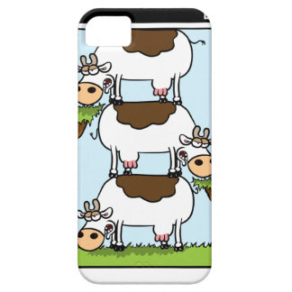 Stack o' Cows iPhone 5 Case
