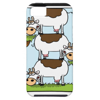 Stack o' Cows iPhone 5 Covers