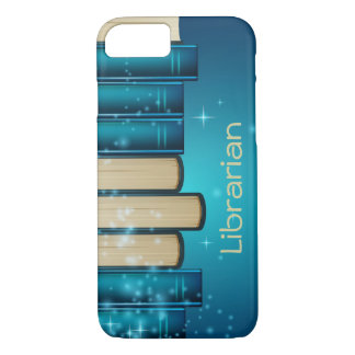 Stack of Books Design Phone Case