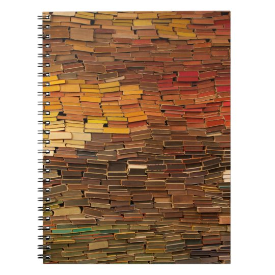 Stack of Books Notebook