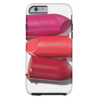 Stack of broken lipstick tough iPhone 6 case