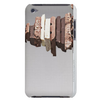 Stack of chocolate bars iPod touch Case-Mate case