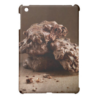 Stack of Chocolate Cookies iPad Mini Cover