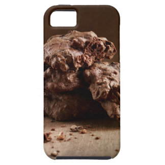 Stack of Chocolate Cookies iPhone 5 Case