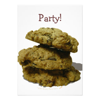 Stack of Cookies Cookie Lovers Invitations