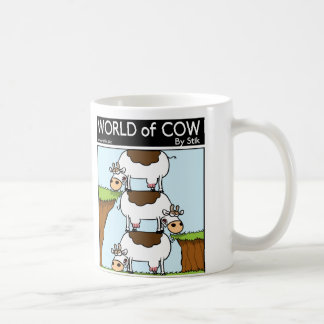 Stack of Cows Coffee Mug