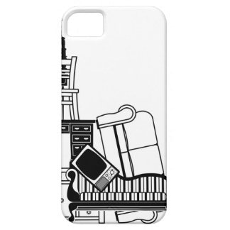 Stack of furniture iPhone 5 covers
