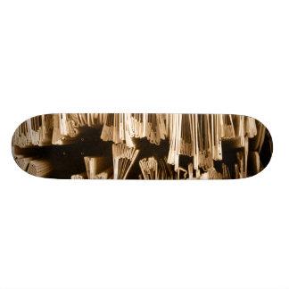 Stack of Papers 21.6 Cm Old School Skateboard Deck