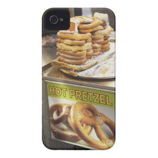 Stack of pretzels at a stall Case-Mate iPhone 4 case