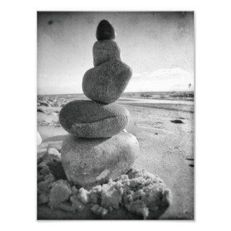 Stack Of Rocks, Stacking Stones Zen Meditation Photo Print