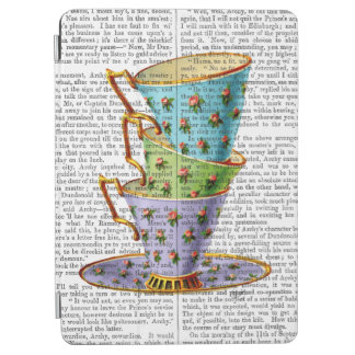 Stack Of Three Vintage Teacups iPad Air Cover