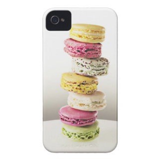 Stack of vibrant macaroons iPhone 4 Case-Mate case