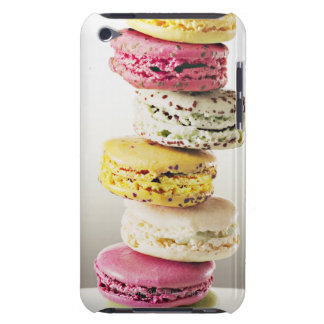 Stack of vibrant macaroons iPod touch Case-Mate case