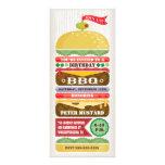 Stacked BBQ Hamburger Party Invitation