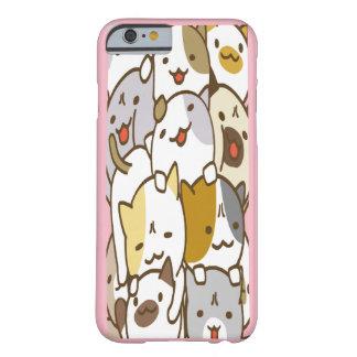 Stacked Chibi Kittens Cellphone Case