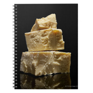Stacked Chunks of Parmasean Cheese Notebook