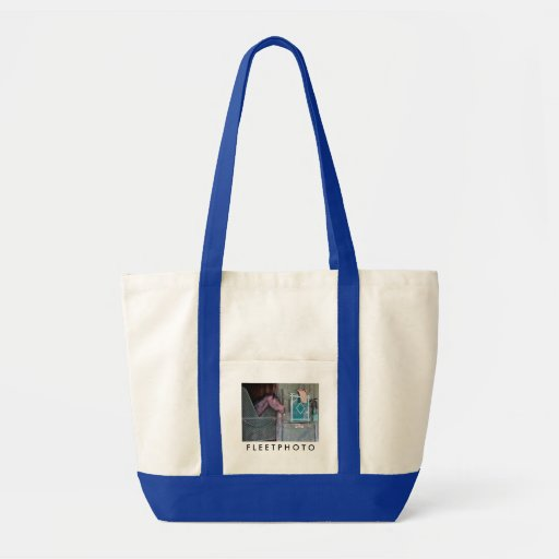 Stacked Deck Canvas Bag