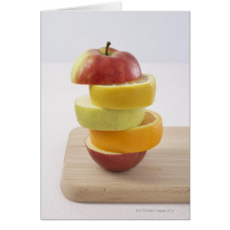 Stacked Fruit Slices Card
