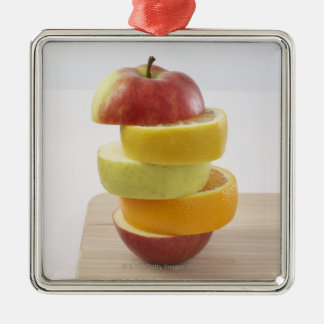 Stacked Fruit Slices Christmas Ornament
