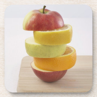 Stacked Fruit Slices Coaster
