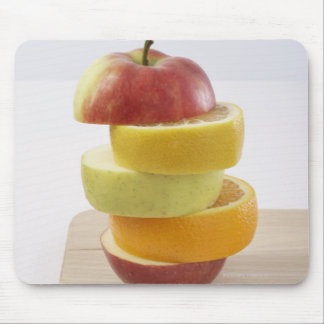 Stacked Fruit Slices Mouse Mat