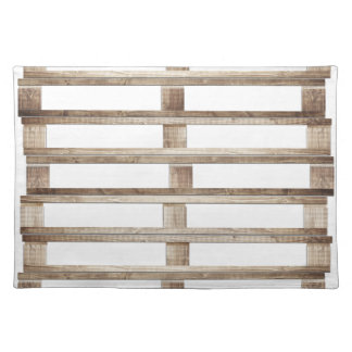 Stacked pallets placemat