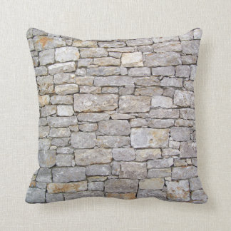 Stacked Rock Wall Pillow
