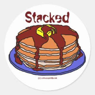 Stacked Round Sticker