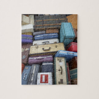 Stacked suitcases jigsaw puzzle