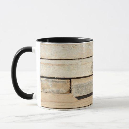 Stacked Wood Boards Coffee Mug