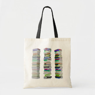 Stacks of Books Tote Bag