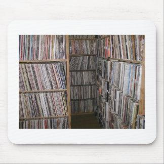 Stacks of Vinyls Mouse Mat