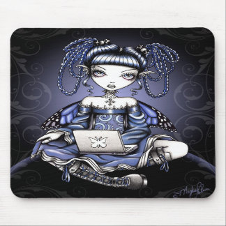Stacy Blue Lab Top Fairy Mousepad