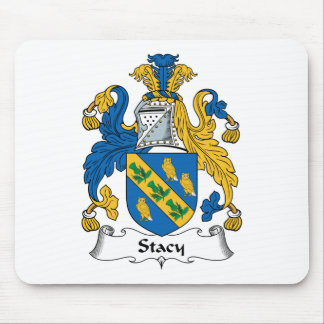 Stacy Family Crest Mouse Mat