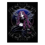 Stacy Magic Mirror Pink Fairy Fantasy Post Cards