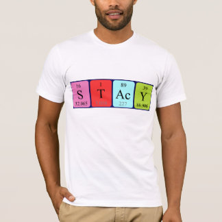 Stacy periodic table name shirt