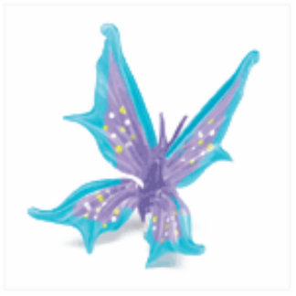 Stacy's Butterfly Keychain Photo Cutout