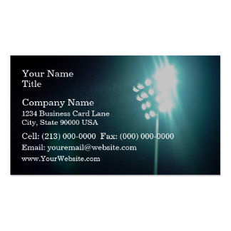 Stadium lights pack of standard business cards