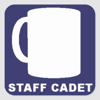 Staff Cadet Canteen Master Stickers