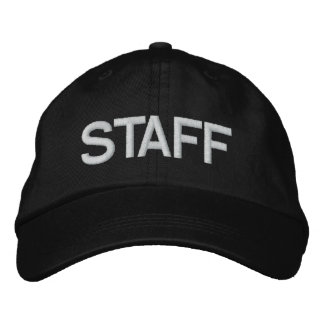 STAFF EMBROIDERED HAT