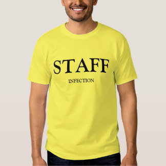 Staff Infection Yellow Adult Shirt