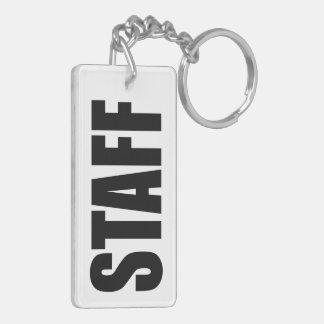 Staff Keychain