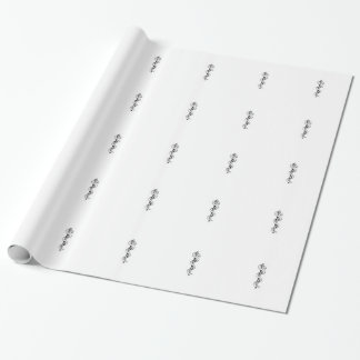 Staff of Asclepius Wrapping Paper