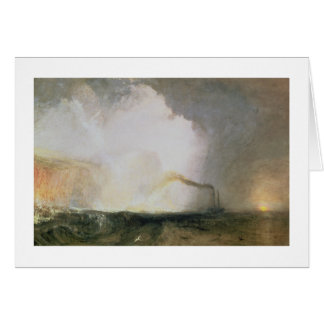 Staffa Fingal s Cave 1832 oil on canvas Greeting Cards