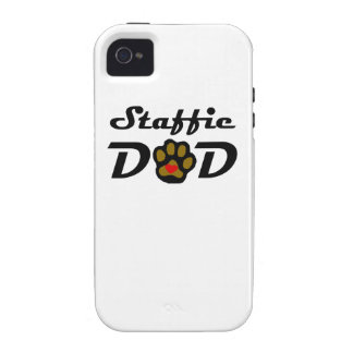 Staffie Dad Vibe iPhone 4 Case