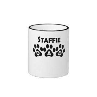 Staffie Dad Coffee Mugs