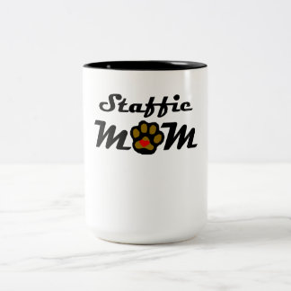 Staffie Mom Coffee Mugs