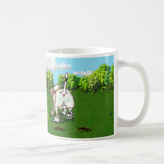 STAFFIE SMILES - Bottoms Up! Coffee Mug