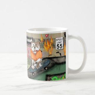 STAFFIE SMILES - Skater Boy Coffee Mug