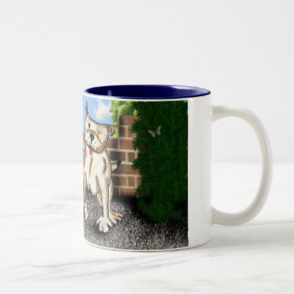 STAFFIE SMILES - You have the 'X' Factor Two-Tone Coffee Mug